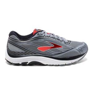 Brooks Dyad 9 - Mens Running Shoes - Grey/Red/Black