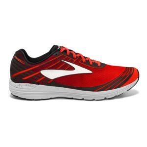 Brooks Asteria - Mens Racing Shoes - Toreador/Cherry Tomato/Black