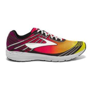 Brooks Asteria - Womens Racing Shoes - Plum Caspia/Diva Pink/Orange Pop