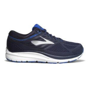 Brooks Addiction 13 - Mens Running Shoes - Navy/Silver/Electric Blue