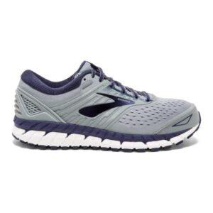 Brooks Beast 18 - Mens Running Shoes - Grey/Navy/White
