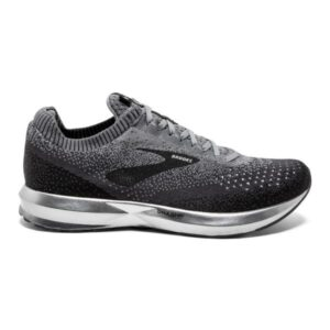 Brooks Levitate 2 - Mens Running Shoes - Black/Grey/Ebony