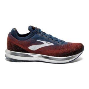 Brooks Levitate 2 - Mens Running Shoes - Chili/Navy/Black