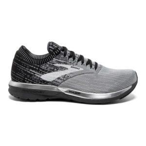 Brooks Ricochet - Mens Running Shoes - Grey/Black/Ebony