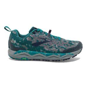 Brooks Caldera 3 - Mens Trail Running Shoes - Blue/Grey/Navy