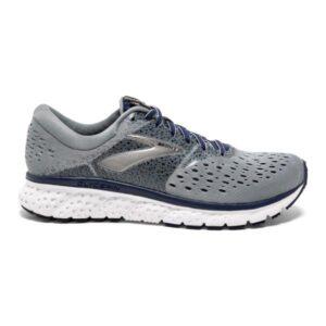 Brooks Glycerin 16 - Mens Running Shoes - Grey/Navy/Black