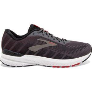 Brooks Ravenna 10 - Mens Running Shoes - Ebony/Black/Red