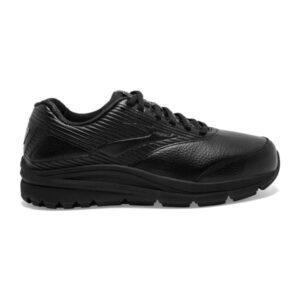 Brooks Addiction Walker 2 Leather - Womens Walking Shoes - Black