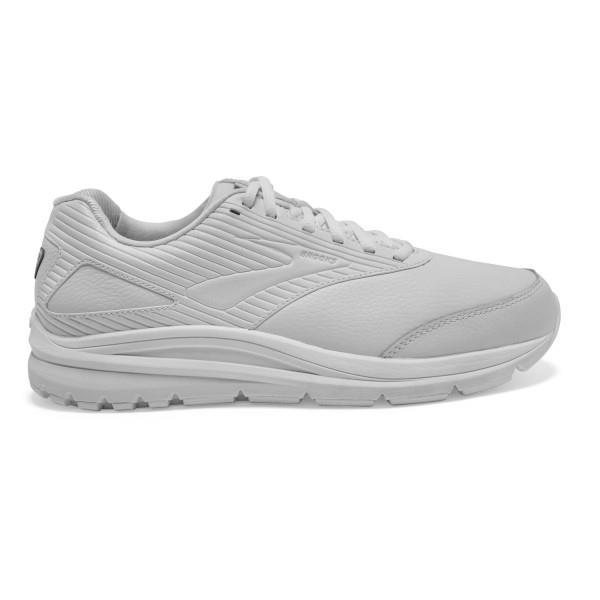 Brooks Addiction Walker 2 Leather - Mens Walking Shoes - White
