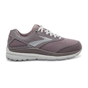 Brooks Addiction Walker 2 Suede - Womens Walking Shoes - Shark/Alloy/Oyster