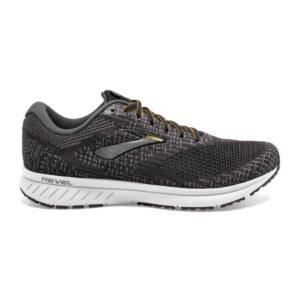 Brooks Revel 3 - Mens Running Shoes - Turbulence/Black/Orange