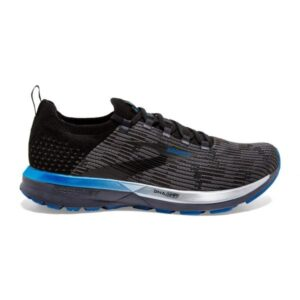 Brooks Ricochet 2 - Mens Running Shoes - Black/Grey/Blue