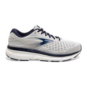 Brooks Dyad 11 - Mens Running Shoes - Antarctica/Grey/Peacoat
