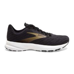 Brooks Launch 7 - Mens Running Shoes - Ebony/Black/Gold