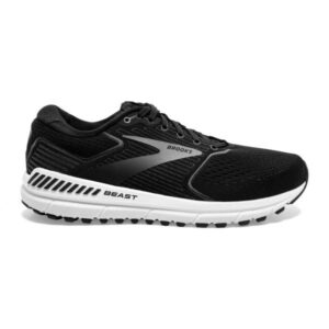 Brooks Beast 20 - Mens Running Shoes - Black/Ebony/Grey