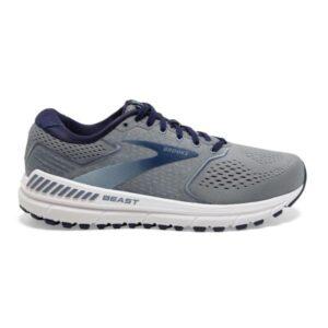 Brooks Beast 20 - Mens Running Shoes - Blue/Grey/Peacoat