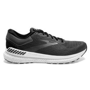 Brooks Transcend 7 - Mens Running Shoes - Black/Ebony/Grey