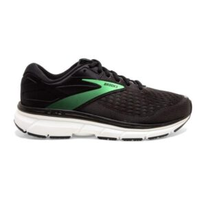 Brooks Dyad 11 - Womens Running Shoes - Black/Ebony/Green