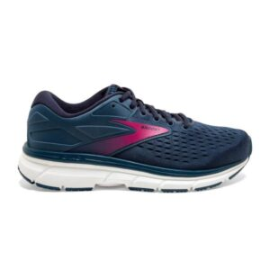 Brooks Dyad 11 - Womens Running Shoes - Blue/Navy/Beetroot