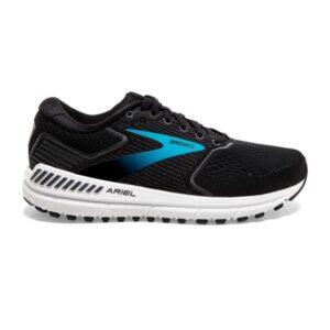 Brooks Ariel 20 - Womens Running Shoes - Black/Ebony/Blue
