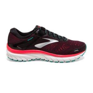 Brooks Defyance 11 - Womens Running Shoes - Black/Pink/Green
