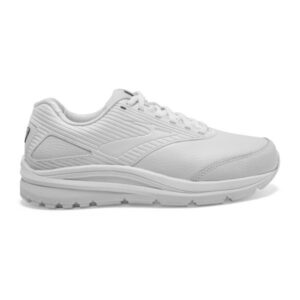 Brooks Addiction Walker Neutral - Womens Walking Shoes - Triple White