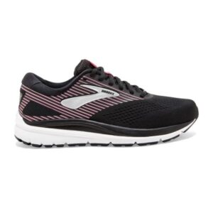 Brooks Addiction 14 - Womens Running Shoes - Black/Hot Pink/Silver