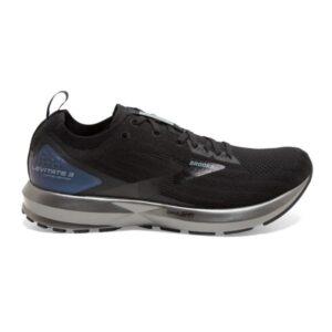 Brooks Levitate 3 - Mens Running Shoes - Black/Ebony