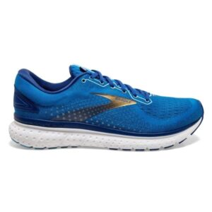 Brooks Glycerin 18 - Mens Running Shoes - Blue/Mazarine/Gold