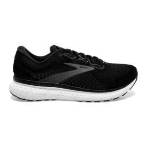 Brooks Glycerin 18 - Mens Running Shoes - Black/White