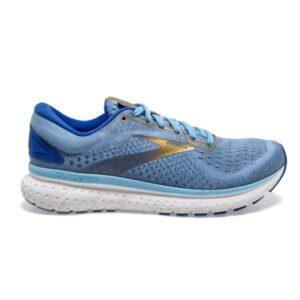 Brooks Glycerin 18 - Womens Running Shoes - Cornflower/Blue/Gold