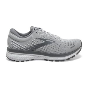 Brooks Ghost 13 - Womens Running Shoes - Alloy/Oyster/White