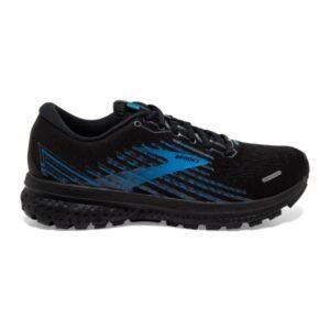 Brooks Ghost 13 GTX - Mens Running Shoes - Black/Grey/Blue