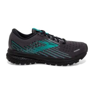 Brooks Ghost 13 GTX - Womens Running Shoes - Double Black/Peacock