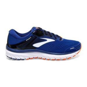 Brooks Defyance 11 - Mens Running Shoes - Blue/Orange/White