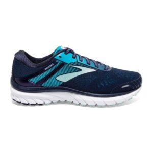 Brooks Defyance 11 - Womens Running Shoes - Navy/Teal/White