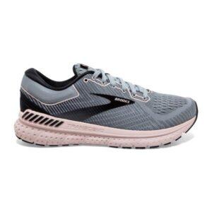 Brooks Transcend 7 - Womens Running Shoes - Grey/Black/Violet