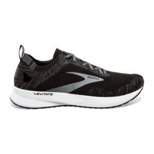 Brooks Levitate 4 - Mens Running Shoes - Black/White