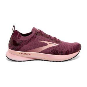 Brooks Levitate 4 - Womens Running Shoes - Nocturne/Coral/Zinfandel