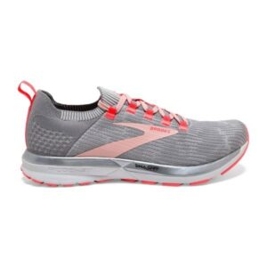 Brooks Ricochet 2 - Womens Running Shoes - Grey/Alloy/Coral Cloud