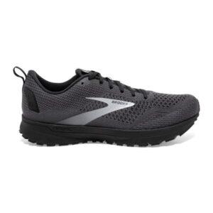 Brooks Revel 4 - Mens Running Shoes - Ebony/Black/Grey