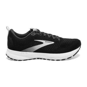 Brooks Revel 4 - Mens Running Shoes - Black/Oyster/Silver