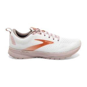 Brooks Revel 4 - Womens Running Shoes - White/Violet/Copper
