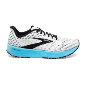Brooks Hyperion Tempo - Womens Running Shoes - White/Black/Iced Aqua