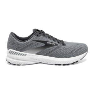 Brooks Ravenna 11 - Mens Running Shoes - Grey/Ebony/White