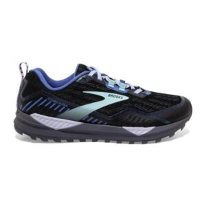Brooks Cascadia 15 GTX - Womens Trail Running Shoes - Black/Marlin/Blue