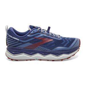 Brooks Caldera 4 - Mens Trail Running Shoes - Deep Cobalt/Blue/Red