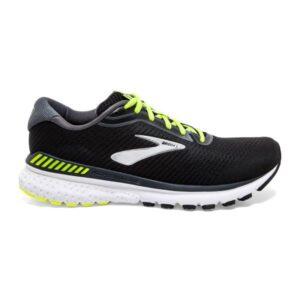 Brooks Adrenaline GTS 20 - Mens Running Shoes - Black/Nightlife/White