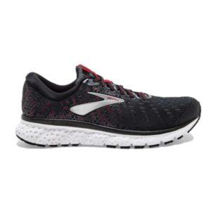 Brooks Glycerin 17 - Mens Running Shoes - Black/Ebony/Red