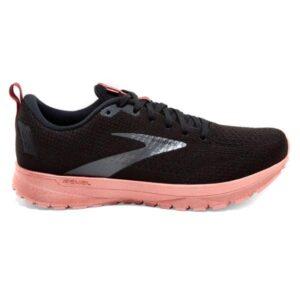 Brooks Revel 4 LE - Womens Running Shoes - Black/Marsala/Lobster